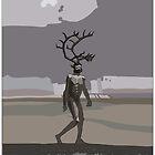 antlered man by David  Kennett