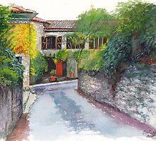 Porte Orange by Dai Wynn