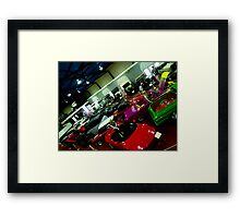 Photographers Welcome Framed Print