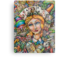 Curiouser and Curiouser Metal Print