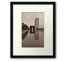 OKC Framed Print