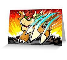 Bowser | Koopa Klaw Greeting Card