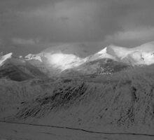 The north side of Glen Coe  by Ian Mac