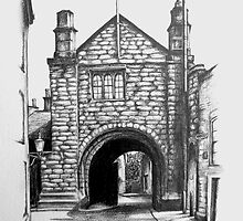 Cathedral Gate House, Abbey St, Carlisle, Cumbria by Andrew G Campbell