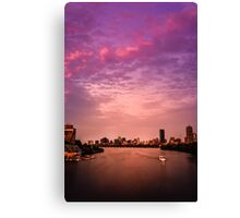 Charles River , Boston Canvas Print