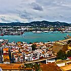 ibiza town harbour by gruntpig