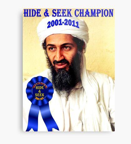 Hide & Seek Champion Metal Print