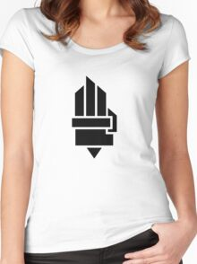 The Hunger Games - Hand (Light Version) Women's Fitted Scoop T-Shirt