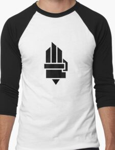 The Hunger Games - Hand (Light Version) Men's Baseball ¾ T-Shirt