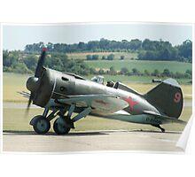 Polikarpov Po-2 Russian WW2 Fighter Poster
