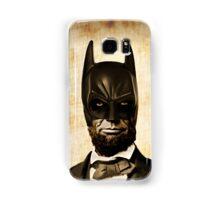 Batman + Abe Lincoln Mashup Samsung Galaxy Case/Skin