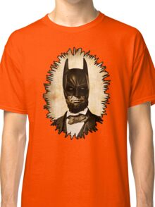 Batman + Abe Lincoln Mashup Classic T-Shirt