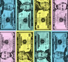 Plutocracy Money Sticker