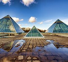 Pyramids Times Three by Myron Watamaniuk