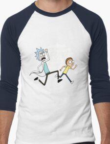 Rick and Morty On A Tshirt Men's Baseball ¾ T-Shirt