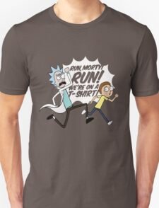 Rick and Morty On A Tshirt T-Shirt
