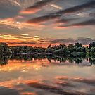 HDR Sunset at Tiddenfoot by Dale Rockell