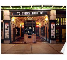 off to the movies at tampa theatre Poster