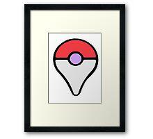 Pokémon Pin Framed Print