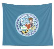 Kingdom Hearts Station (Blue) Wall Tapestry