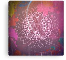 Red Multi Cancer Awareness Ribbon Canvas Print