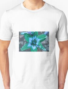 Photoshop Lily green T-Shirt