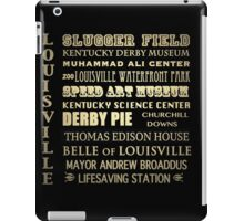 Louisville Kentucky Famous Landmarks iPad Case/Skin