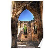 Chapel Doorway - Nunhead Poster