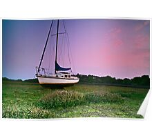 """Sailing the Morning Light"" Poster"