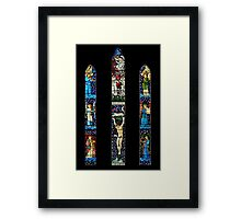 East Window, St James Church, Staveley, Cumbria Framed Print