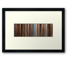 Moviebarcode: The Life Aquatic with Steve Zissou (2004) Framed Print