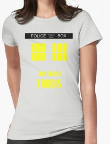 Doctor Who - I'm such a Tardis Womens Fitted T-Shirt