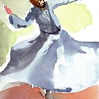 Whirling dervish by faruk koksal