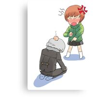 chie and yu Canvas Print