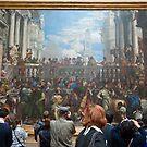 Inside the Louvre, Paris by David Friederich