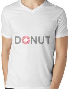 Donut Mens V-Neck T-Shirt
