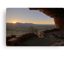 Sunrise at Thieves Den Canvas Print