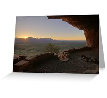 Sunrise at Thieves Den Greeting Card
