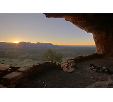 Sunrise at Thieves Den Photographic Print