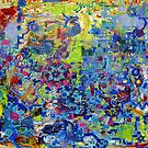 Rube Goldberg Abstract by Regina Valluzzi