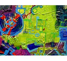 Excerpt 6 from Rube Goldberg Abstract Photographic Print