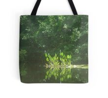 PICKEREL WEED ISLAND Tote Bag