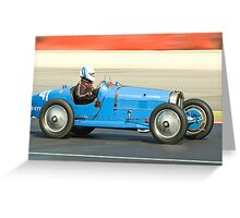 Bugatti T35B Greeting Card