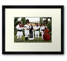 Romanian Folklore Framed Print