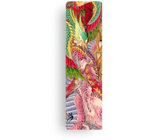 Phoenix and Dragon Canvas Print