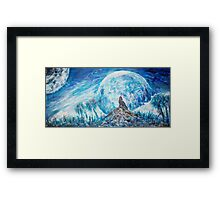 Crying Wolf  Framed Print