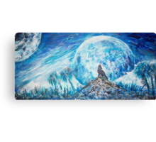 Crying Wolf  Canvas Print