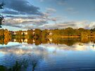 Roath Park Reflections HDR by Vicki Spindler (VHS Photography)