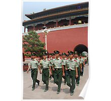 Guards of the Forbidden City Poster