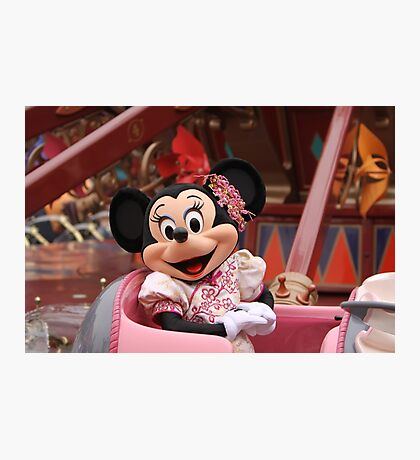 Mouse in a Chair Photographic Print